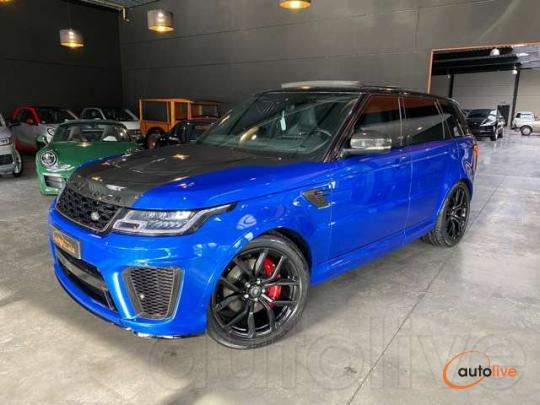 Land Rover Range Rover Sport SVR * EDITION CARBON *201.000€ NP - 1