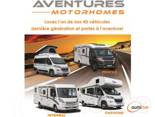Aventure Motorhome 2 - Location