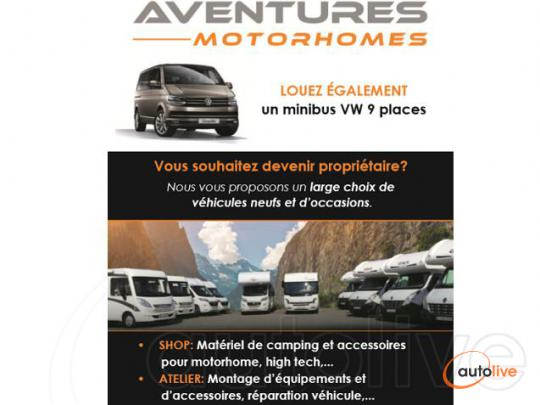 Aventure Motorhome 3 - Services